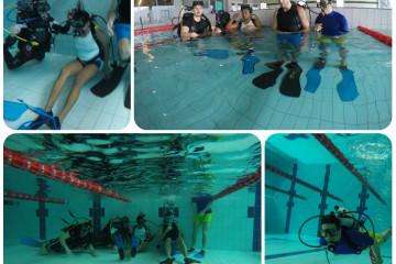 AD/EXPERIENCE e MASTERING: Il primo respiro sott'acqua e corso OWD 14.03.2015