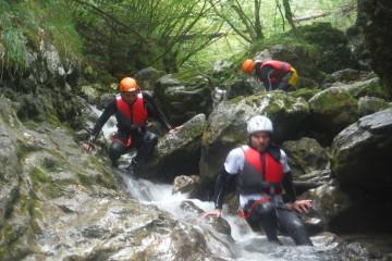 AD/EXPERIENCE Canyoning Rio Nero Summer 2016