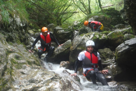 AD/EXPERIENCE Canyoning Rio Nero Summer 2016